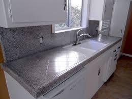 Tile Countertop Kitchen Marble Tile Kitchen Countertops Tiled Kitchen Countertops And