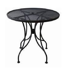 table 30 round outdoor with mesh top and umbrella hole od 30r