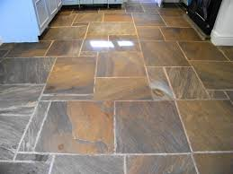 Kitchen Floor Stone Tiles Stripping Cleaning And Sealing Of Stone Kitchen Floor In Kerridge