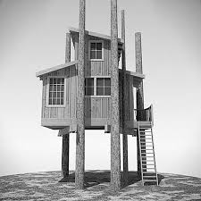 simple tree house designs children. View In Gallery Large Tree House With A Sloped Roof Simple Designs Children .