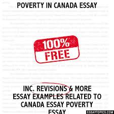 in essay poverty in essay
