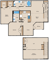 The Park At Armand Bayou ApartmentWIZ - Loft apartment floor plans