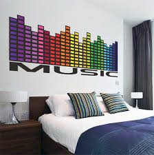 music wall decal mural music equalizer wall decal quote music wall decal mural music equalizer wall decal quote music wall art design sticker
