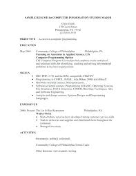 resume for restaurant restaurant hostess resume examples sample of waitress resume free