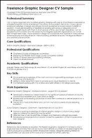 Freelance Graphic Designer Resume Sample Freelance Graphic Designer