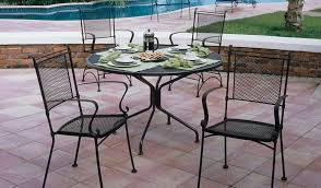 Wrought Iron Outdoor Furniture Porch and Patio