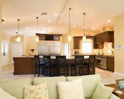 slanted ceiling lighting for kitchen