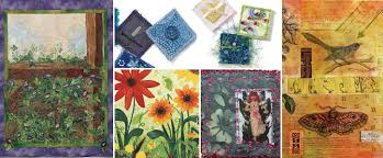 5 Free Designs for Art Quilts - The Quilting Company & 5 Free Designs for Art Quilts Adamdwight.com