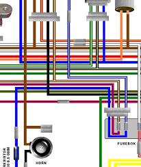 kawasaki z b uk euro spec a colour wiring circuit diagram kawasaki z750 b4 uk euro spec colour wiring diagram