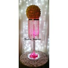 table top chandelier wedding tall centerpiece table top chandelier wedding centerpiece 1 tiers of iridescent beads coming from top to bottom wedding