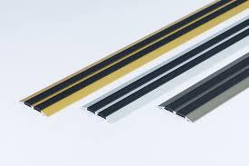 details about flat threshold carpet door aluminium floor edging bar trim strip 45mm x1m 39 37