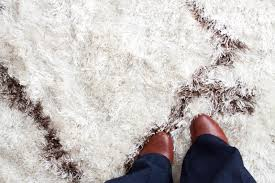 white shag rug. On Owning A White Shag Rug With Small Children.