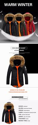 asesmay 2016 brand thickening winter coat france goose jacket winter feather jacket men fur hooded casual