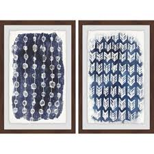 marmont hill 2 piece boho patterns 24 inch x 18 inch framed wall on 2 piece framed wall art with buy 2 piece wall art from bed bath beyond