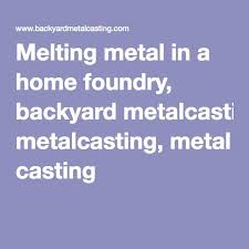 My First FurnaceBackyard Metalcasting