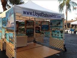 siesta key farmers market lloyd dobson artist