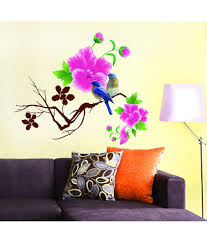 Small Picture StickersKart flowers trees PVC Wall Stickers Buy StickersKart