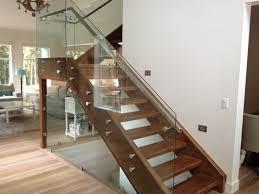 glass stair railing kits