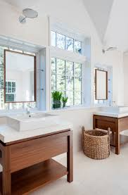 framed wooden mirrors
