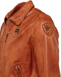 blauer usa daytona leather jacket men jackets fashion brown blauer
