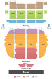 Cheyenne Civic Center Seating Chart 11 Interpretive Luxor Seating Chart For Criss Angel Theater