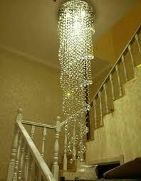 Us 5984 56 Offmoderne Einfache Led Kronleuchter Rotierenden Treppe Kronleuchter Kristall Lange Kronleuchter Duplex Stock Villa Wohnzimmer Kristall