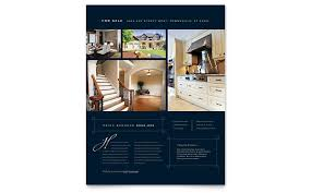 Luxury Home Real Estate Flyer Word Publisher Template