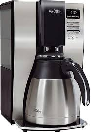 Café drip coffee maker has a very attractive design that will make an impact to any modern kitchen countertop. Amazon Com Mr Coffee 10 Cup Coffee Maker Optimal Brew Thermal System Drip Coffeemakers Kitchen Dining