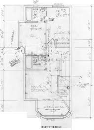 the floor plans shown above were taken from the actual working blueprint construction drawings