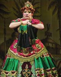 The Phantom of the Opera — Wendy Ferguson as Carlotta on stage at Her...