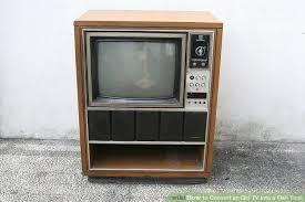 furniture fish tanks. Image Titled Convert An Old TV Into A Fish Tank Step 1 Furniture Tanks