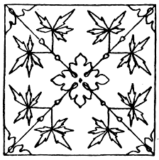 Medieval Design Patterns Medieval Tile Pattern Clipart Etc