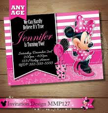 printable mickey mouse invitations luxury pink oh toodles minnie mouse printable birthday invitation diy of printable