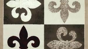 fleur de lis area rug rug awesome creative of outdoor in area rugs black rug round fleur de lis area rug