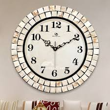large wall clocks round 16 inch unusual