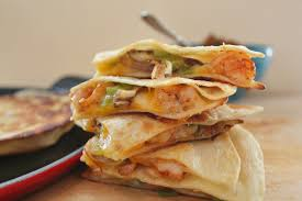 Image result for Smoked Gouda Mushroom Quesadillas