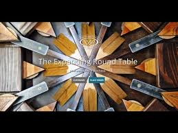1st edition expanding round table from reclaimed barn wood 2010