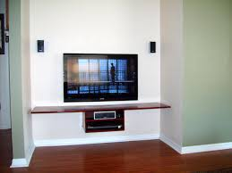 Wooden Floating Shelves For Devices And Decoration Under Tv, Nice Designs  Ideas Of Floating Shelf