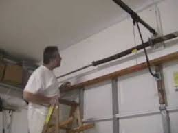 how to fix a garage door springDIYClinic  Garage Door Torsion Spring Replacement Part 1  YouTube