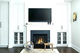 built ins around fireplace in cabinet above terrific cabinets ideas cost white next to