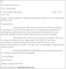 Bookkeeping Proposal Letter Business Proposal Templates Examples