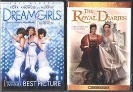 Dreamgirls FS & The Royal Diaries FS- 2 Romance DVDs