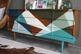 painted mid century furnitureHow to Strip and Refinish a MidcenturyMod Credenza  howtos  DIY