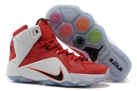 lebron shoes 12 red. cheap lebron 12 ps elite shoes white red black b