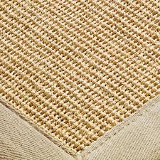 sisal rugs natural beige border