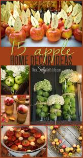 15 Apple Home Decor Ideas, home decor inspiration for the Holidays using  apples