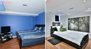 Basement Bedroom Ideas Before And After Basement Bedroom Idea Small