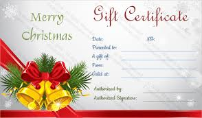 Holiday Gift Card Template 24 Holiday Gift Certificate Templates Psd Word Ai Free
