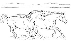 Horse Color Page Free Breyer Horse Coloring Pages Thenewcon Fun Time