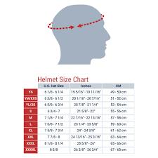 Child Motorcycle Helmet Size Chart 45 Inquisitive Four Wheeler Helmet Size Chart